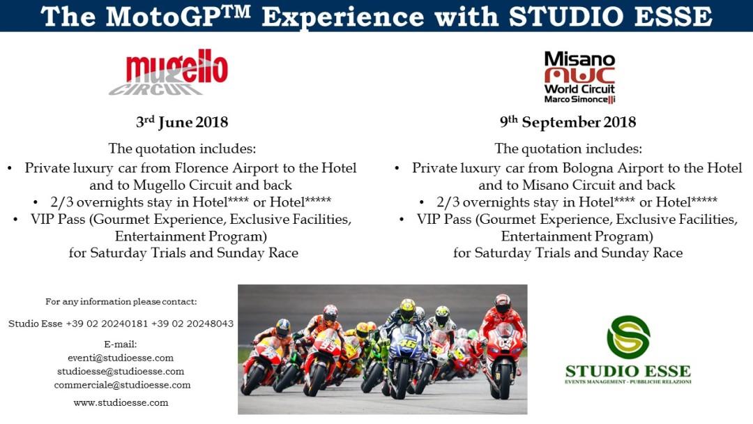 MotoGP with Studio Esse